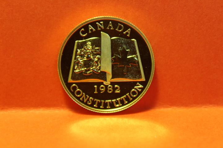 Münze 100 Dollar Canada Gold  1982   27 mm  #3188